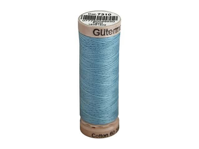 Gutermann Natural Cotton Sewing Thread 60 wt. 273 yd. #7310 Light Sky Blue