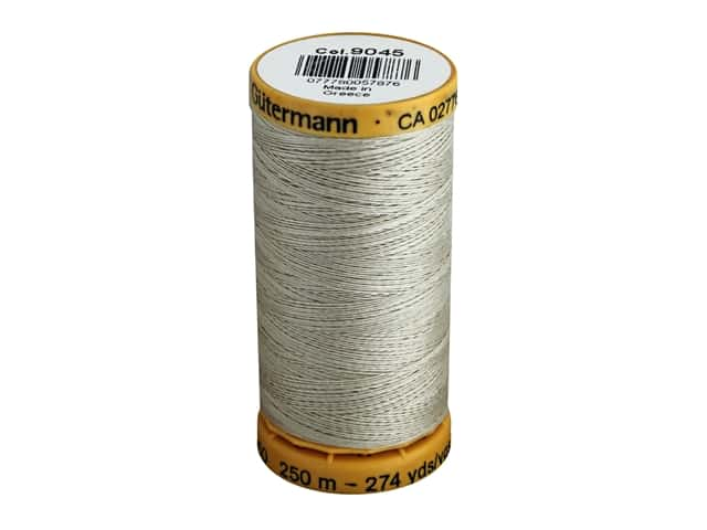 Gutermann 100% Natural Cotton Sewing Thread 273 yd. #9045 Mist Green