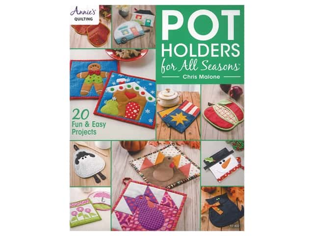 Annie's Pot Holders For All Season Book
