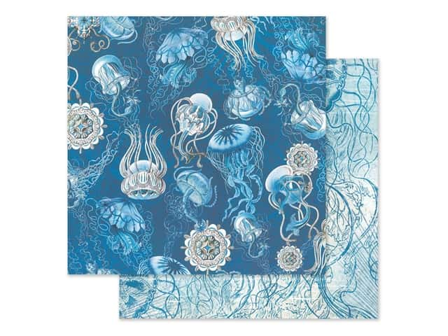Graphic 45 Collection Ocean Blue Paper 12 in. x 12 in. Fiji