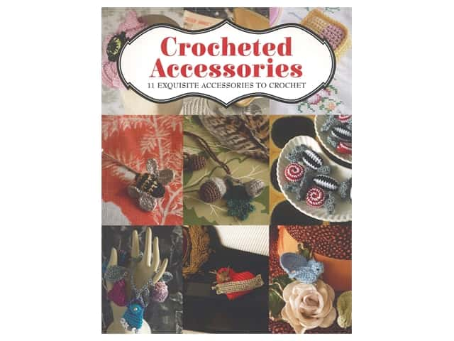 Guild of Master Craftsman Publishing Crocheted Accessories Book