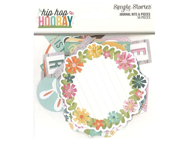 Simple Stories Collection Hip Hop Hooray Bits & Pieces Journal