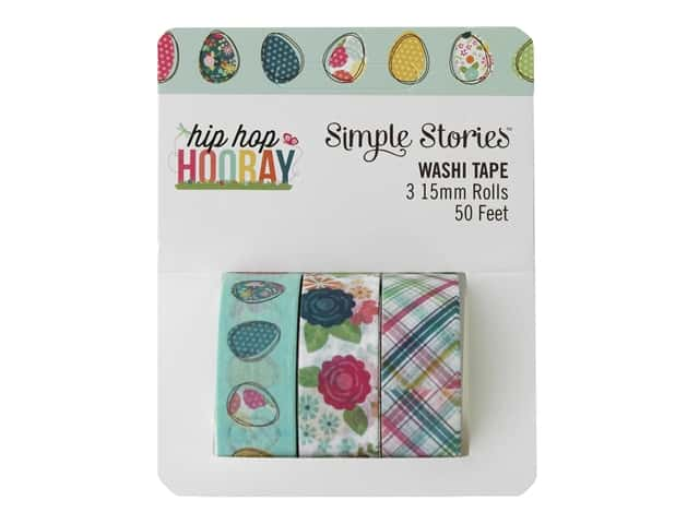 Simple Stories Collection Hip Hop Hooray Washi Tape