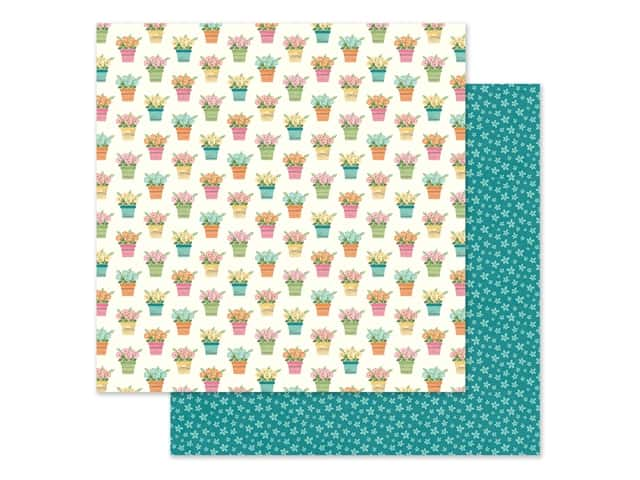 Simple Stories Collection Hip Hop Hooray Paper 12 in. x 12 in. So Sweet