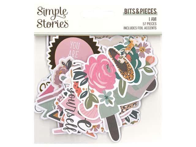 Simple Stories Collection I Am Bits & Pieces