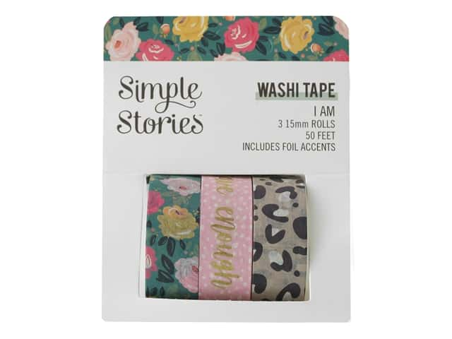 Simple Stories Collection I Am Washi Tape