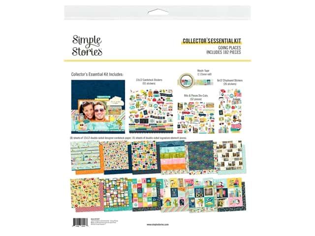 Simple Stories Collection Going Places Collector's Essentials Kit