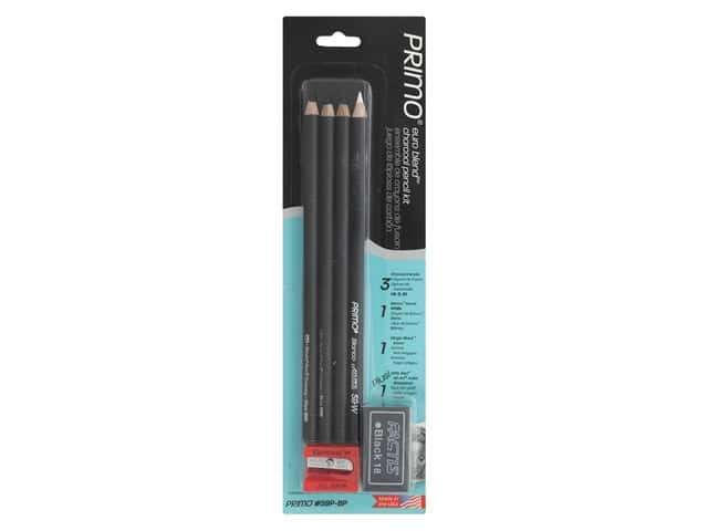 General's Primo Euro Blend Charcoal Pencil Kit