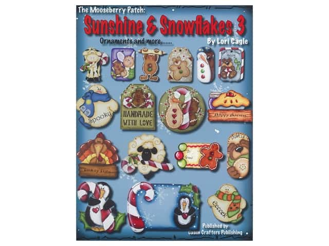 Cabin Crafters Sunshine & Snowflakes 3 Book
