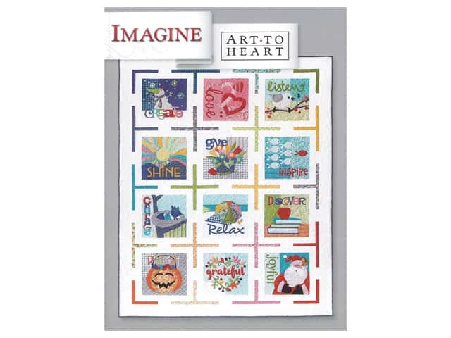Art To Heart Imagine Book