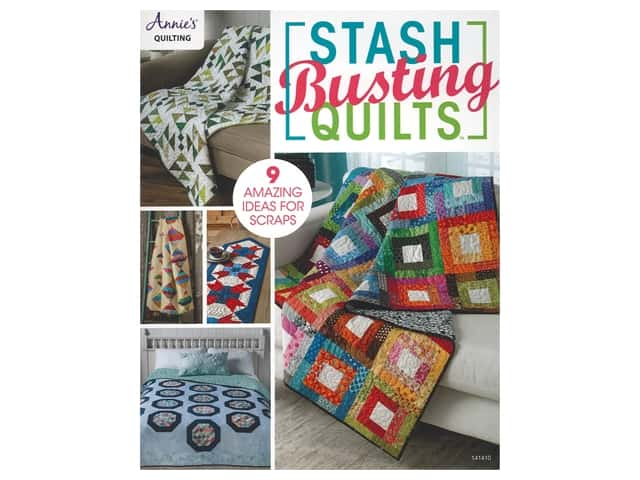 Annie's Stash Busting Quilts Book