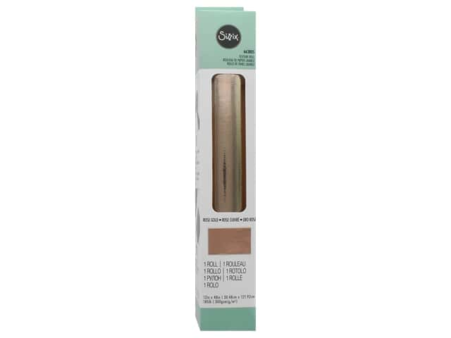 Sizzix Texture Roll 12 x 48 in. Rose Gold
