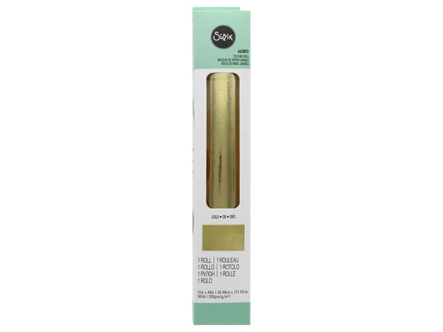 Sizzix Texture Roll 12 x 48 in. Gold
