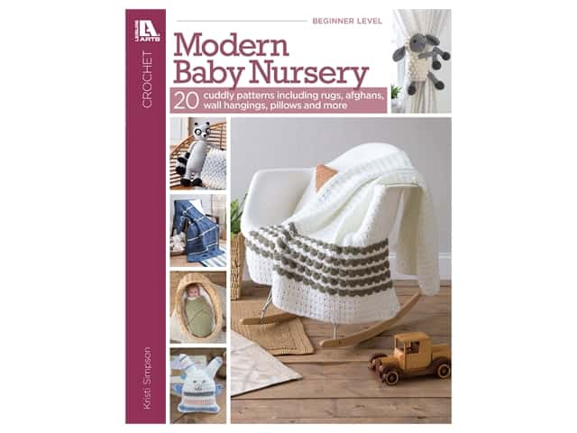 Leisure Arts Crochet Modern Baby Nursery Book