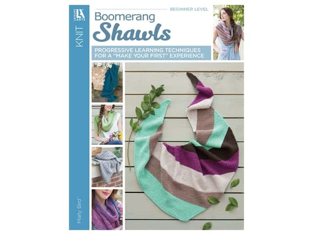 Leisure Arts Boomerang Shawls Knit Book