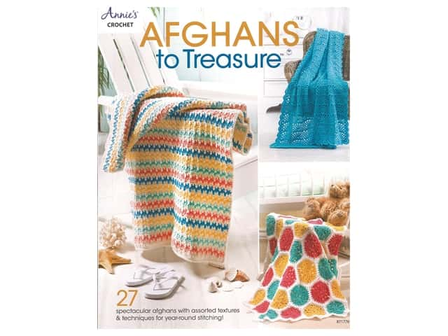 Annie's Afghans To Treasure Book