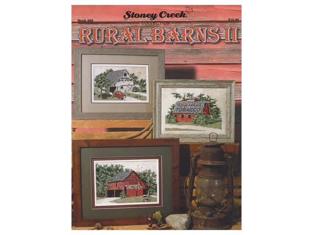 Stoney Creek Rural Barns II Cross Stitch Book