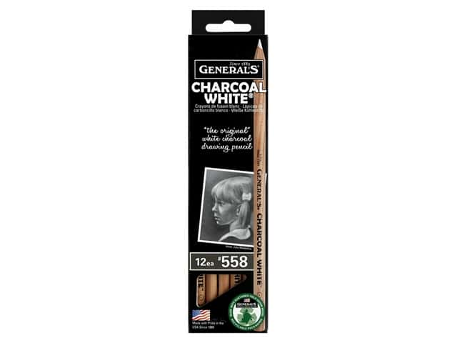 General's Charcoal Pencil White