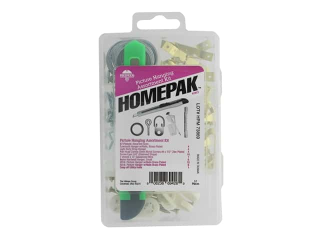 Hillman Picture Hanging Assortment Homepack Kit
