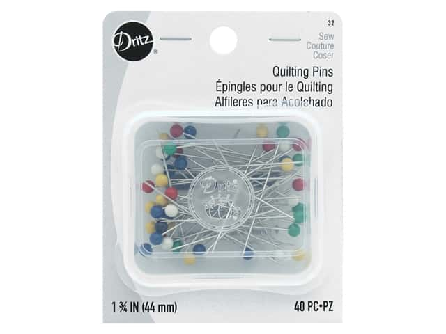 Dritz Quilting Pins Size 28 40 pc