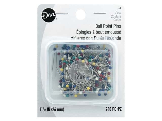Dritz Ball Point Pins Size 17 240 pc.
