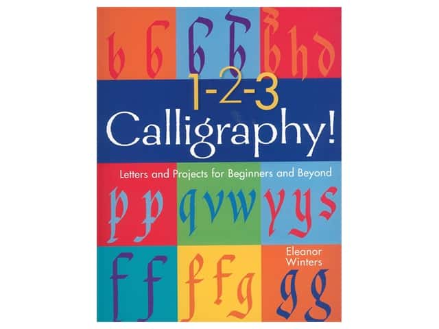 1-2-3 Calligraphy Book