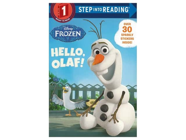 Random House Step Into Reading Step 1 Hello Olaf Book