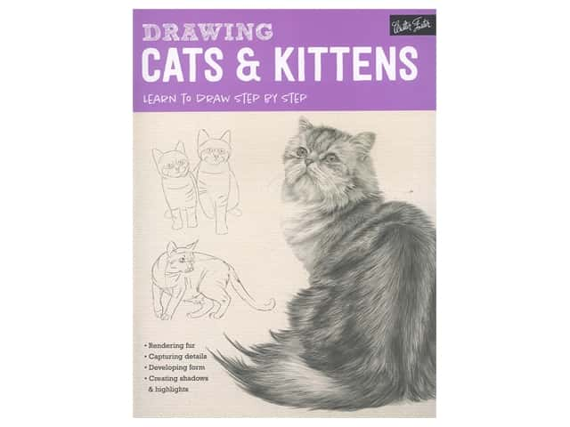 Walter Foster Drawing Cats & Kittens Book