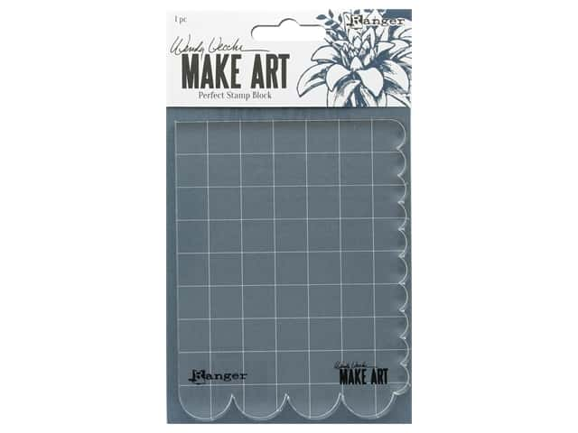 Ranger Wendy Vecchi Make Art Perfect Stamp Block