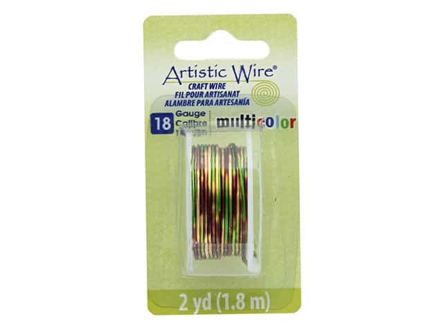 Artistic Wire Multicolor Craft Wire 18 Ga 2 yd. Brown/Green/Gold