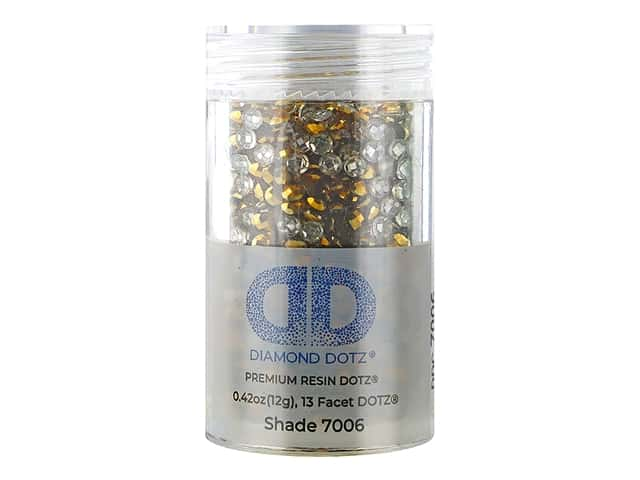 Diamond Dotz Freestyle Gems 0.43 oz. #7006 Metallic Dark Gold