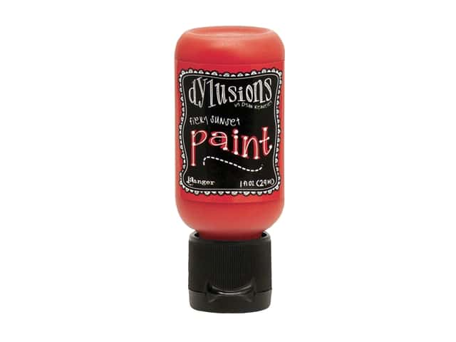 Ranger Dylusions Paint 1 oz. Fiery Sunset