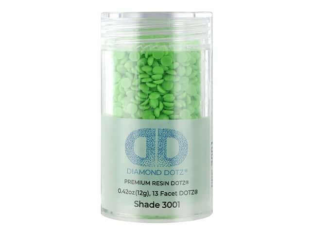 Diamond Dotz Freestyle Gems 0.43 oz. #3001 Neon Green