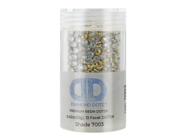 Diamond Dotz Freestyle Gems 0.43 oz. #7003 Metallic Rich Gold