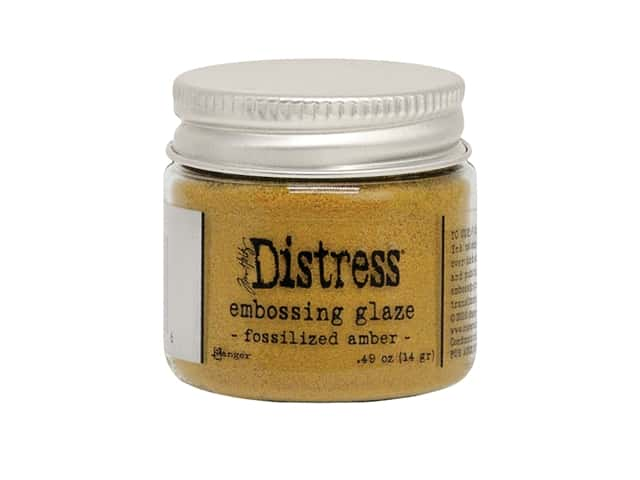 Ranger Tim Holtz Distress Embossing Glaze Fossilized Amber