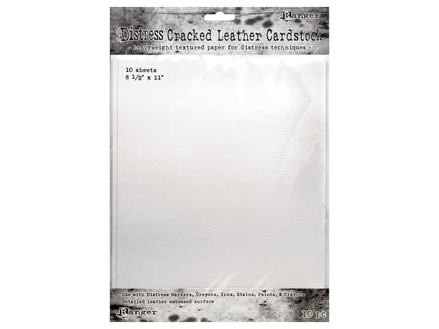 Ranger Tim Holtz Distress Cracked Leather Cardstock 8.5 in. x 11 in.