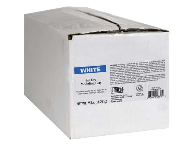 AMACO Air Dry Clay - White 25 lb.