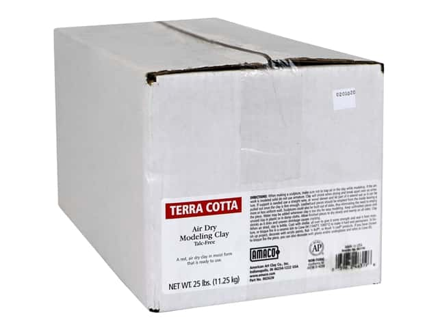 AMACO Air Dry Clay - Terra Cotta 25 lb.