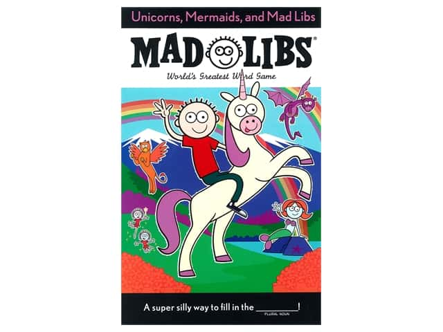Price Stern Sloan Unicorns, Mermaids, and Mad Libs Book