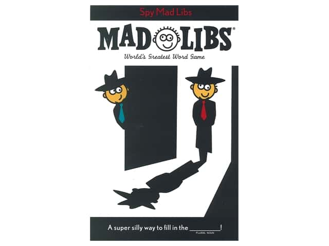 Price Stern Sloan Spy Mad Libs Book