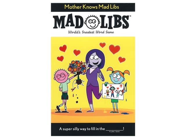 Price Stern Sloan Mother Knows Mad Libs Book