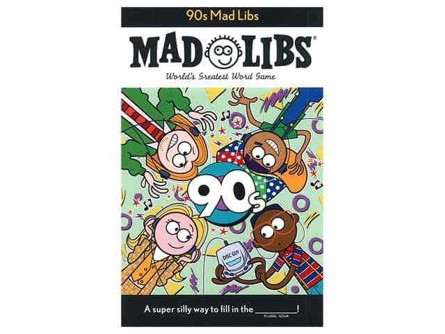 Price Stern Sloan 90's Mad Libs Book
