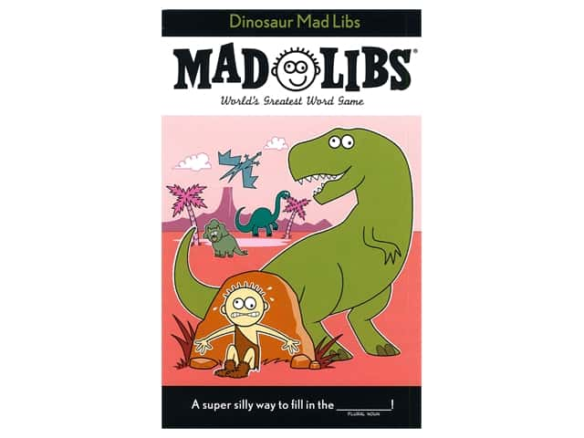 Price Stern Sloan Dinosaur Mad Libs Book