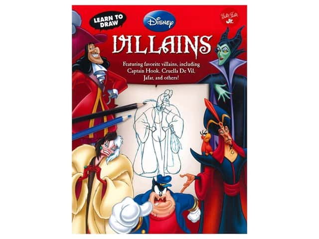 Walter Foster Jr Disney Learn To Draw Villains Book