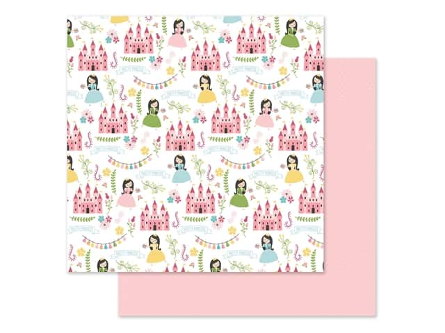 Echo Park 12 x 12 in. Paper All Girl - Pretty Princess