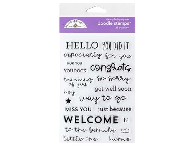 Doodlebug Collection All Occasion Stamp