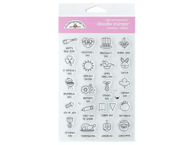 Doodlebug Collection All Occasion Stamp Holiday