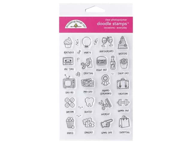 Doodlebug Collection All Occasion Stamp Everyday
