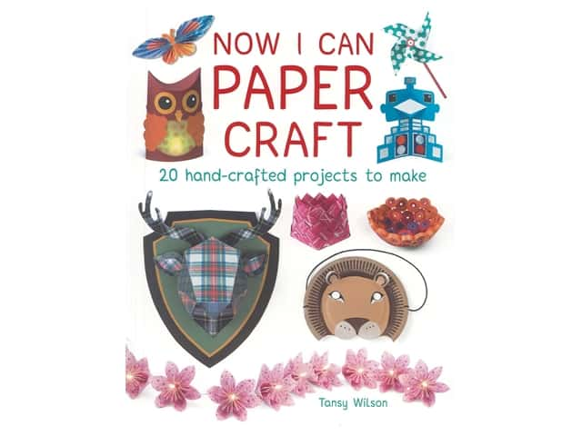 Guild of Master Craftsman Publishing Now I Can Paper Craft Book
