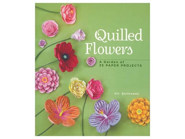 Lark Quilled Flowers Book